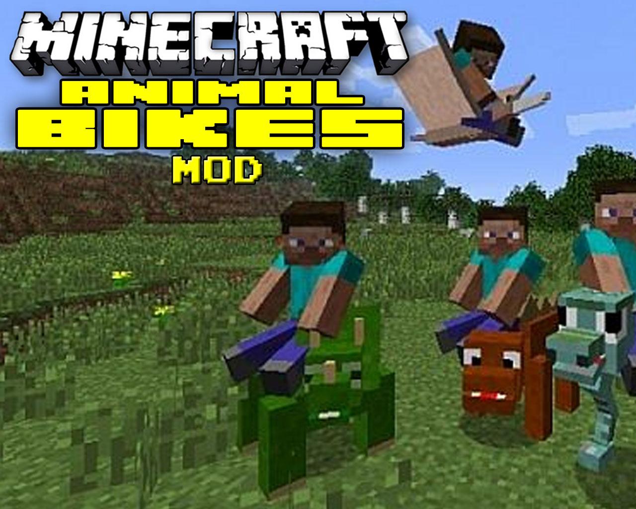 Animal Bikes Mod 1.12.2/1.11.2