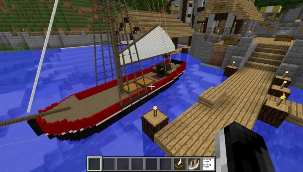 мод на корабли майнкрафт 1.7.10 #5