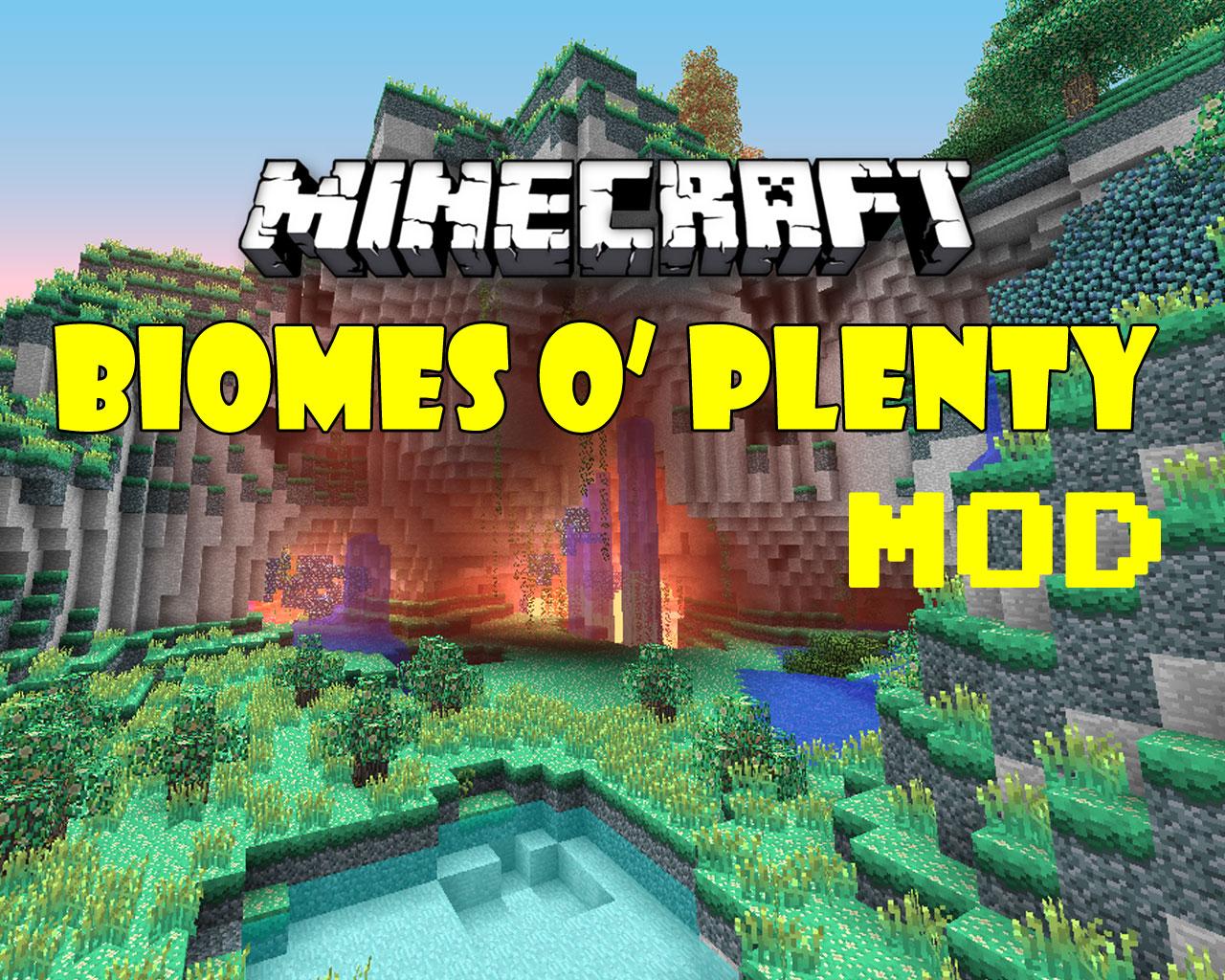 Biomes o' Plenty Mod 1.12.2/1.11.2