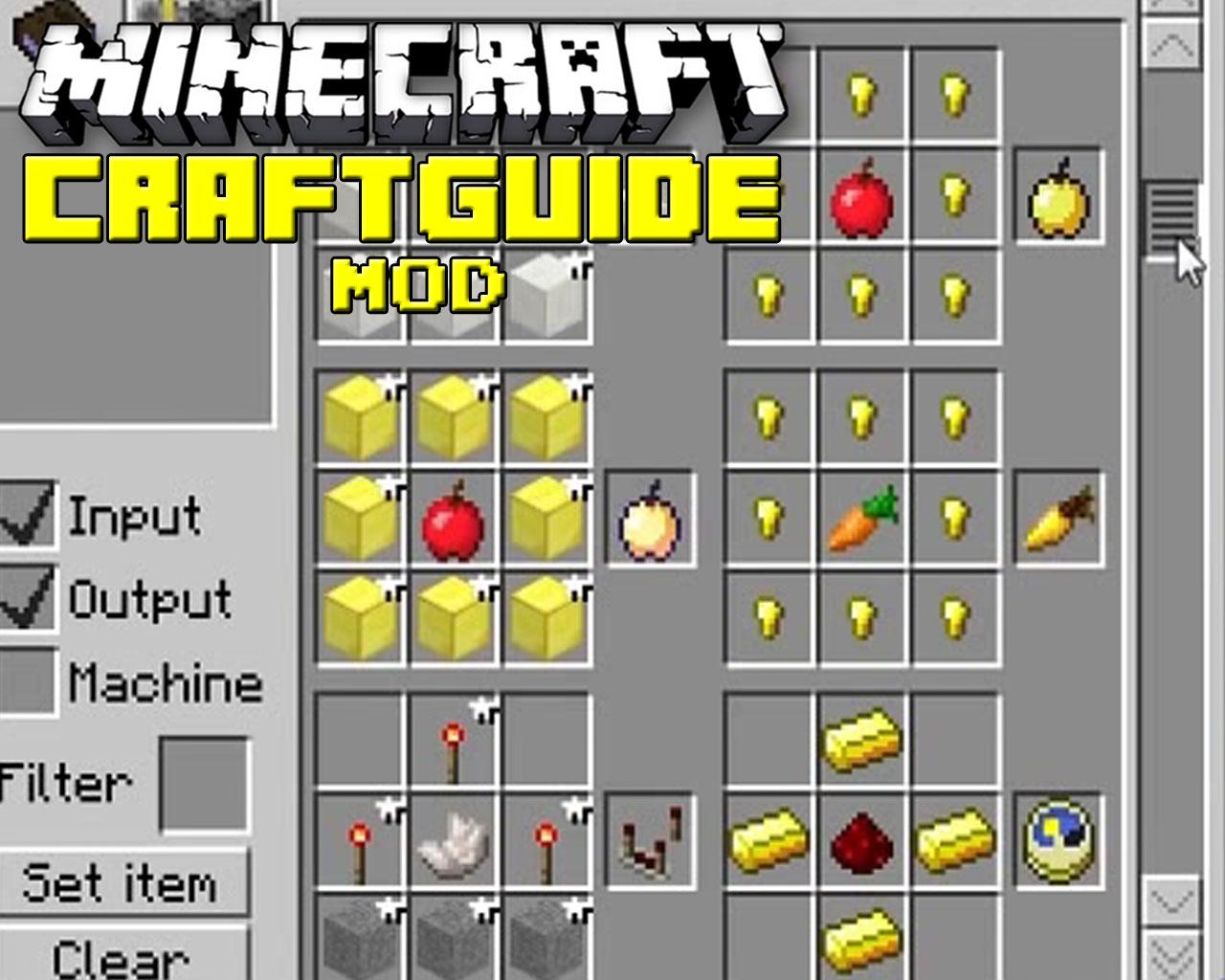 CraftGuide Mod 1.10.2/1.9.4