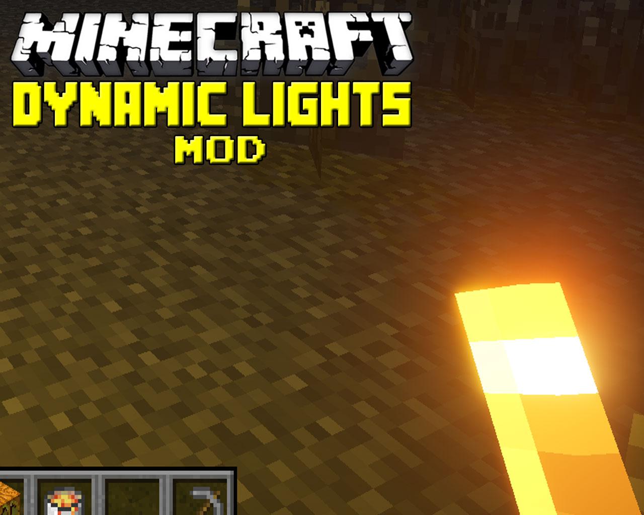 Dynamic Lights Mod 1.13.2/1.12.2