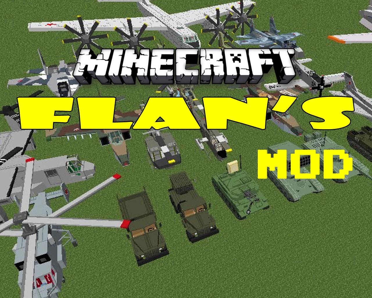 Flan's Mod 1.12.2/1.8