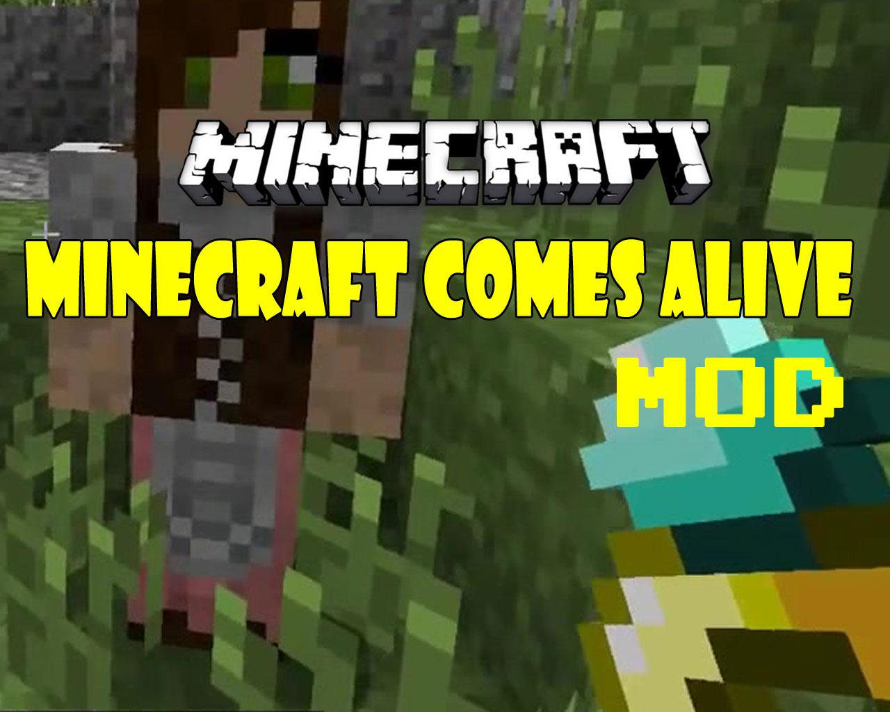 Minecraft Comes Alive Mod 1.12.2/1.10.2