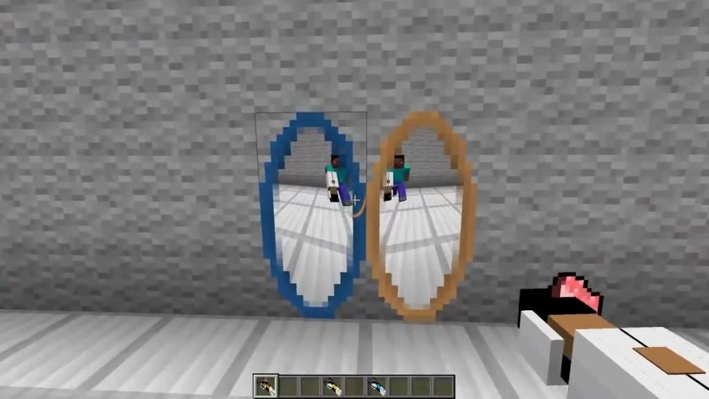 Мод Portal Gun для minecraft 1.7.10
