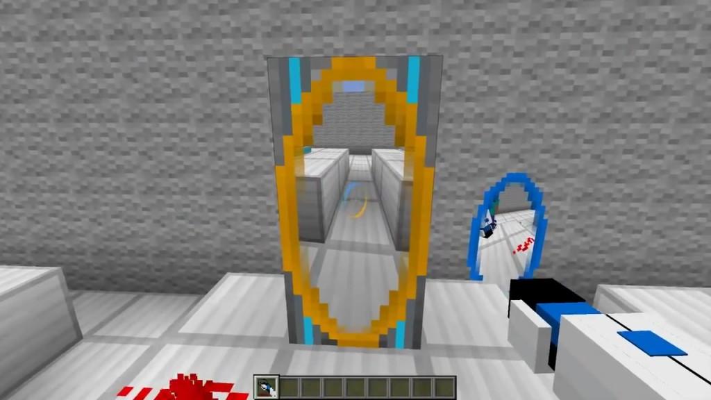 Portal gun mod for minecraft 1 7 10 1 6 4 1 6 2 pimpminecraft