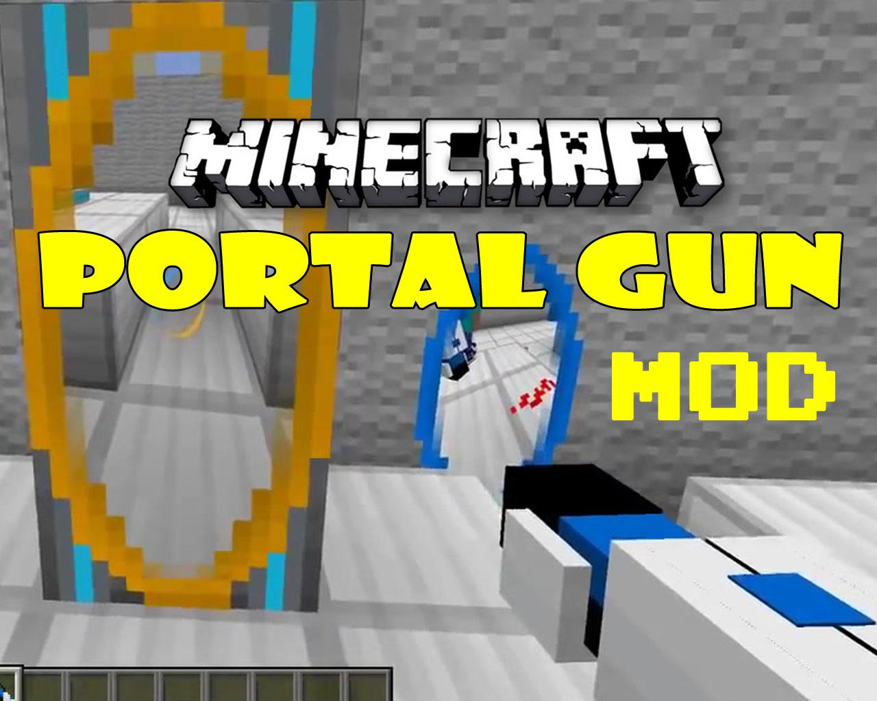 Portal Gun Mod 1.12.2/1.7.10