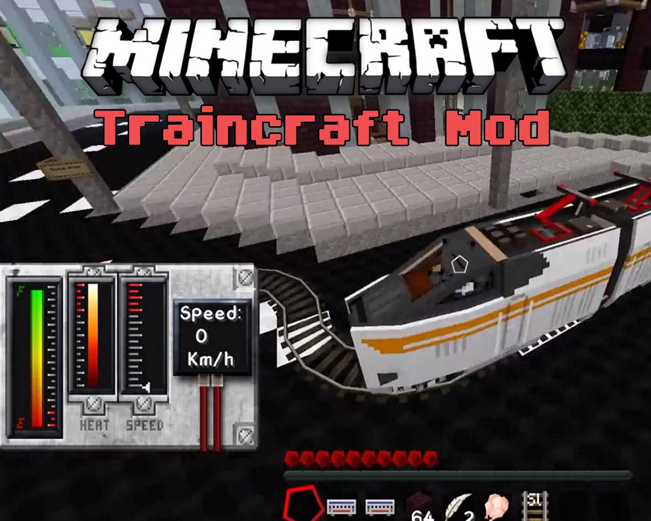 Traincraft Mod 1.7.10/1.6.4