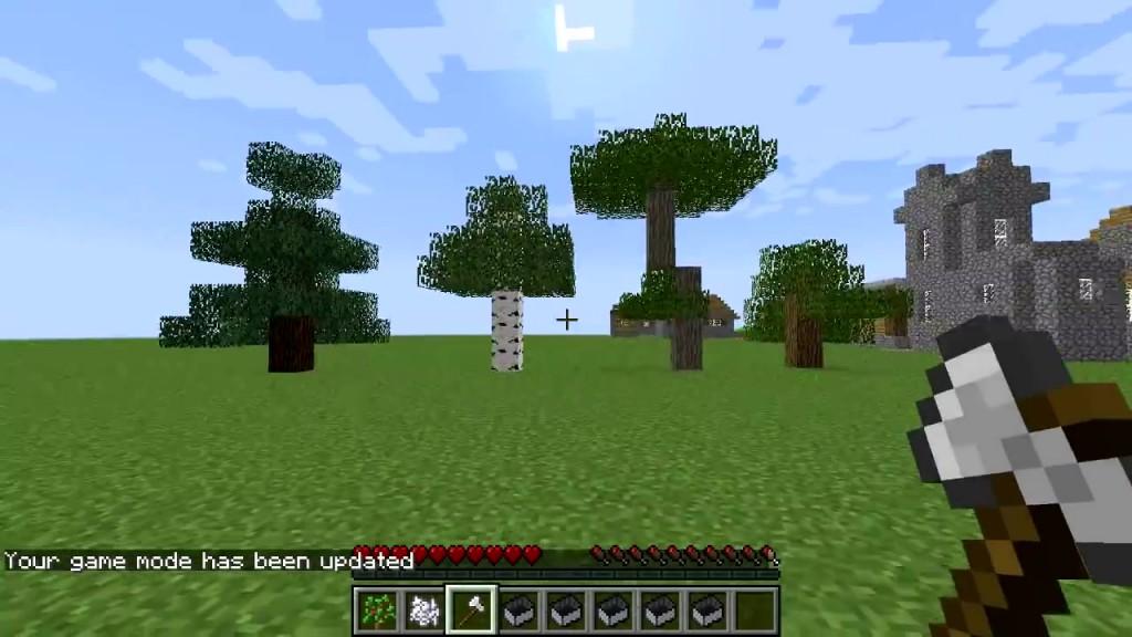 Мод 1.7.10 tree capitator